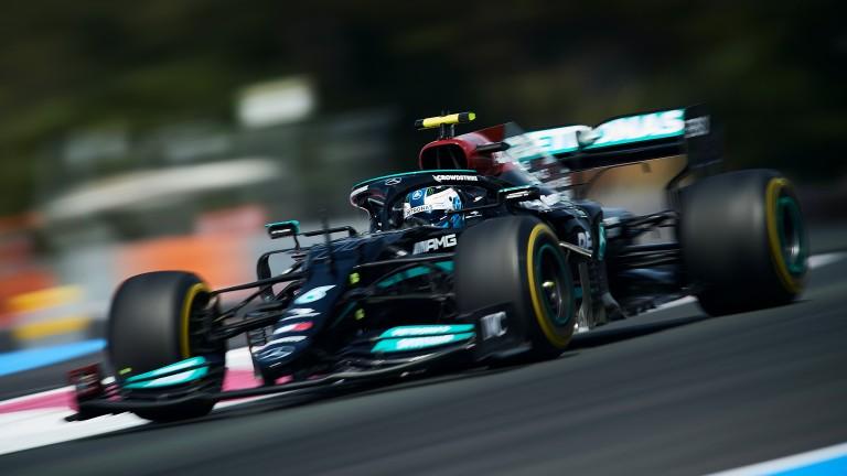 Valtteri Bottas was second fastest in practice at Paul Ricard