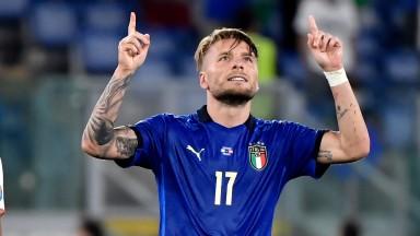 Ciro Immobile has scored in both Italy's Euro 2020 games so far