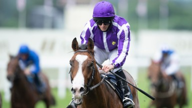 Point Lonsdale and Ryan Moore win the Chesham stakesAscot 19.6..21 Pic: Edward Whitaker/Racing Post