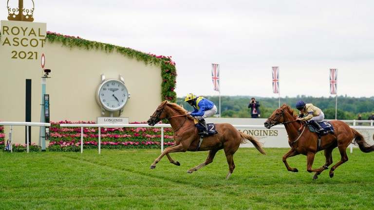 Dream Of Dreams secures his first Diamond Jubilee Stakes at the third attempt