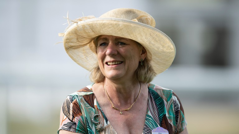 Eve Johnson Houghton: Group 1-winning trainer combined with Highflyer Bloodstock to purchase Windsor Castle Stakes winner Chipotle