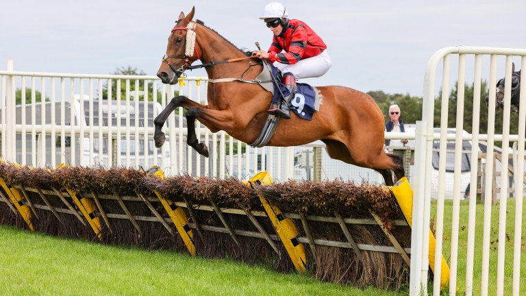 Sweet Flora and Alison Johnson on their way to winning the opener