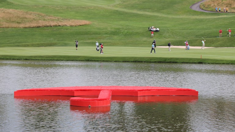 TPC River Highlands in Connecticut hosts the Travelers Championship