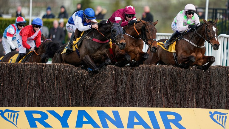 The Ryanair Chase: a possible contender to be the feature race on day five