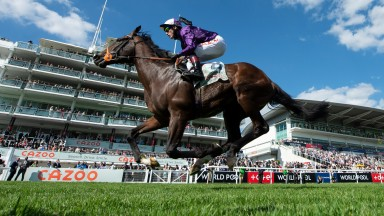 Mojo Star finishes 2nd in the DerbyEpsom 5.6.21 Pic: Edward Whitaker/Racing Post