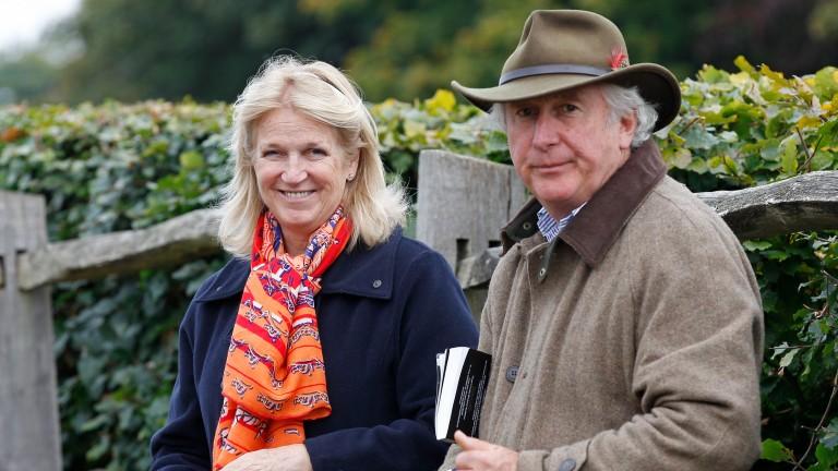 Diane and David Nagle: breeders of Van Gogh from their Barronstown Stud