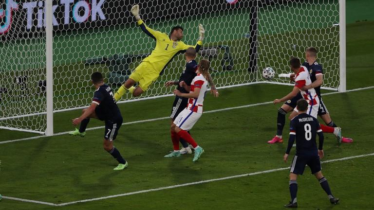 Ivan Perisic's goal sealed a 3-1 win for Croatia over Scotland