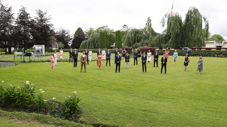 The 2021 Irish National Stud breeding course graduates received their certificates on Friday