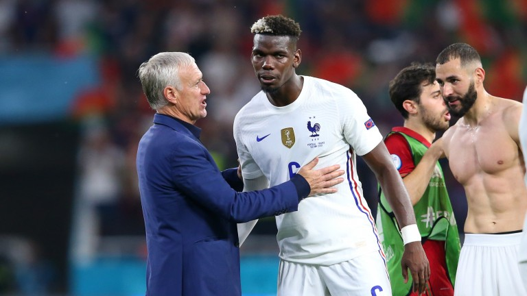 Didier Deschamps gets Paul Pogba to work hard for the team