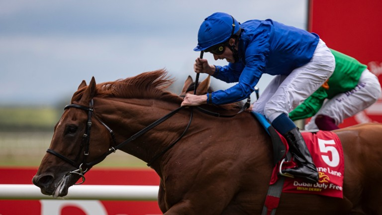 Hurricane Lane: Godolphin's top-class three-year-old will return to action at Longchamp on Wednesday