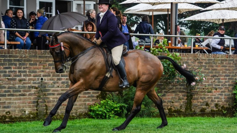 Mumford and Collette McGoldrick show their elite champion mettle