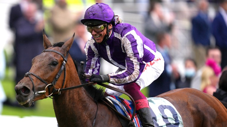 Snowfall: the dominant Cazoo Oaks winner could return for the Irish equivalent at the Curragh on Saturday