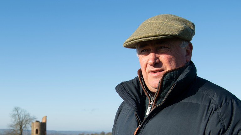 Paul Nicholls: aiming for a four-timer with Kilmington Rose on Monday