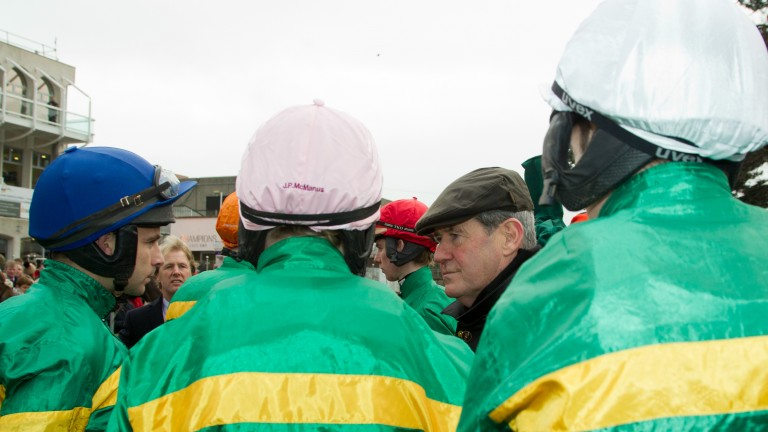 JP McManus: has strength in numbers for Thursday's Grade 3 highlight