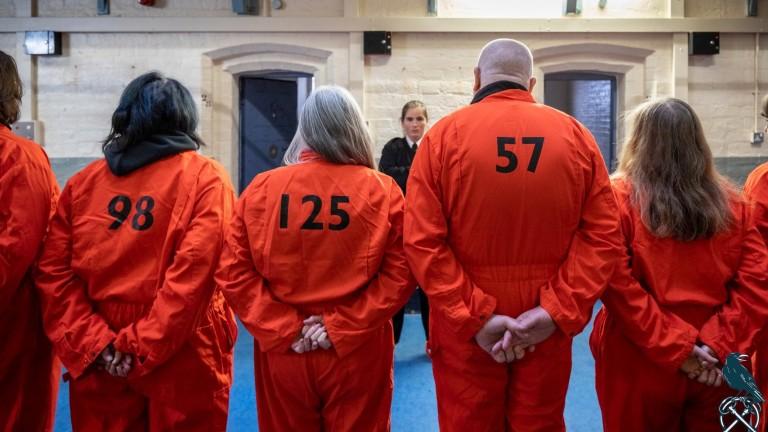 Inmates inside Shrewsbury prison, where Doug Procter will serve his Jail or Bail sentence