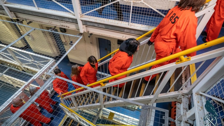Inside Shrewsbury Prison