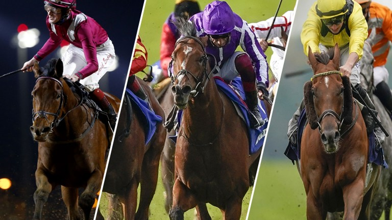 Mishriff, St Mark's Basilica and Addeybb: three leading contenders in Saturday's Eclipse