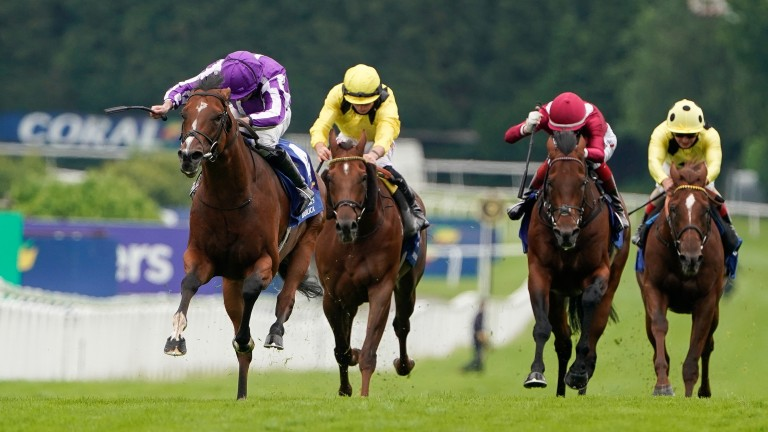 St Mark's Basilica: officially rated 127 after his Eclipse win