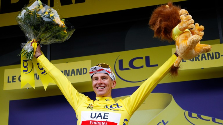 Tadej Pogacar's stage 17 victory only underlined his status as the Tour's top competitor