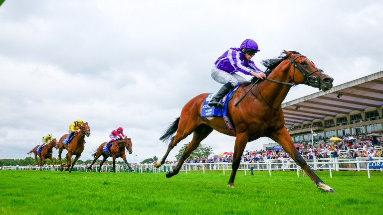 St Mark's Basilica: proved too good for Addeybb and Mishriff in the Eclipse at Sandown
