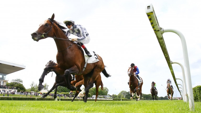 Colin Keane and Broome storm to success in the Group 1 Grand Prix de Saint-Cloud