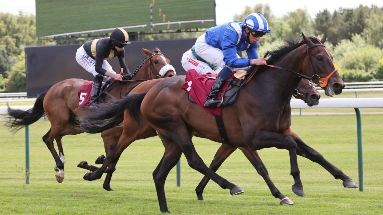 Mandoob: impressive winner at Haydock last time