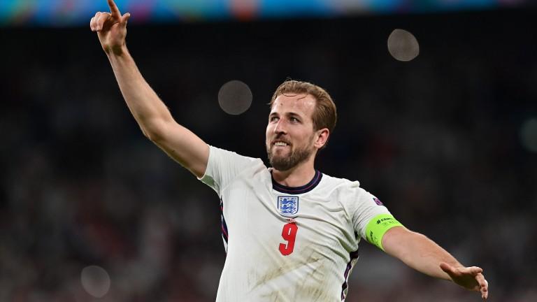 Harry Kane scored the decisive goal for England against Denmark at Wembley Stadium