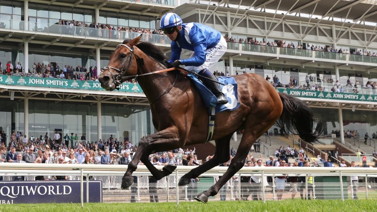 Hukum and Jim Crowley run out comfortable winners of the John Smith's Silver Cup at York