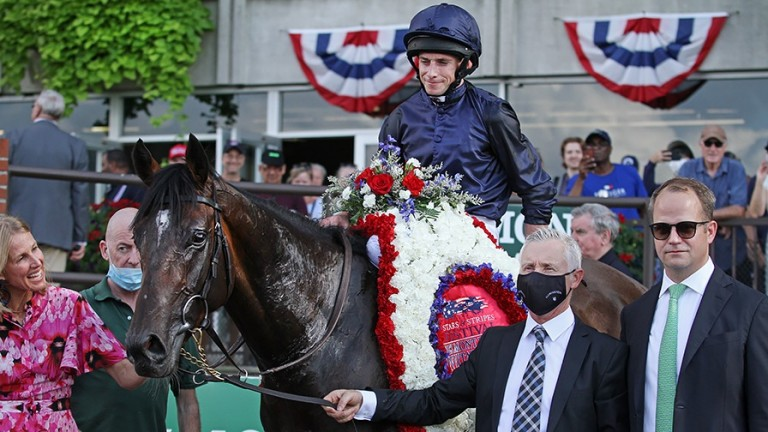 Bolshoi Ballet heads back to Belmont Park seeking another big victory at the track