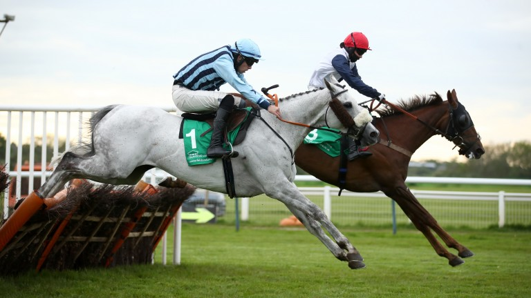 Kilmington Rose (red cap) will try to make it four wins in succession on Monday