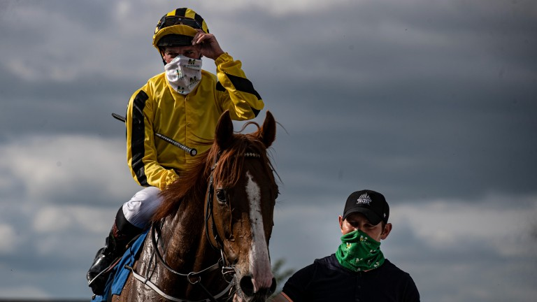 Shane Kelly: rode out his claim at Dundalk on Monday
