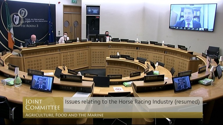 Oireachtas Agriculture Committee: met on the topic of Irish racing on Tuesday
