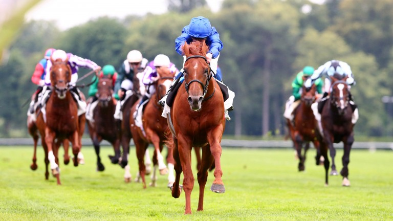 Hurricane Lane is a dominant winner of the Grand Prix de Paris with Wordsworth and Alenquer in behind