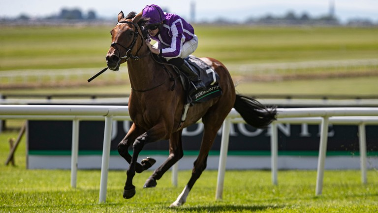 Snowfall: was in a class of her own at the Curragh