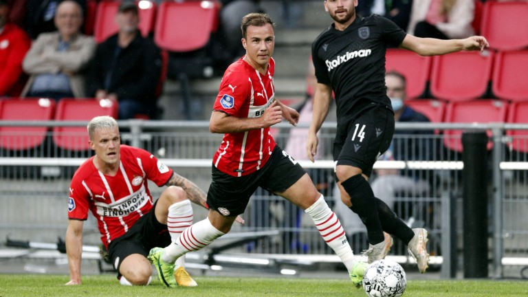 PSV's Mario Gotze