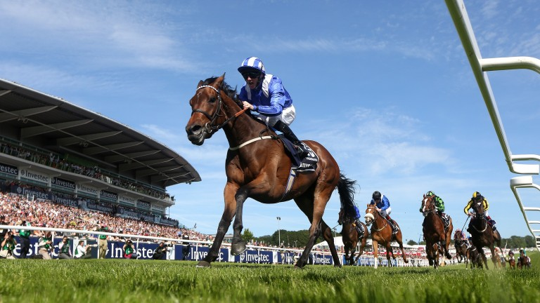 Taghrooda and Paul Hanagan are miles too good for the opposition in the 2014 Oaks