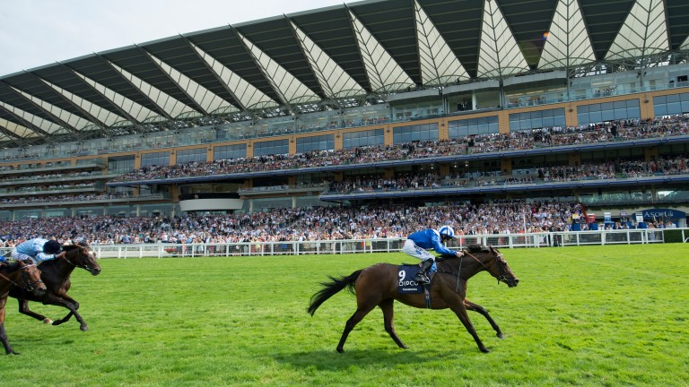 Paul Hanagan eases Taghrooda to King George VI and Queen Elizabeth Stakes success