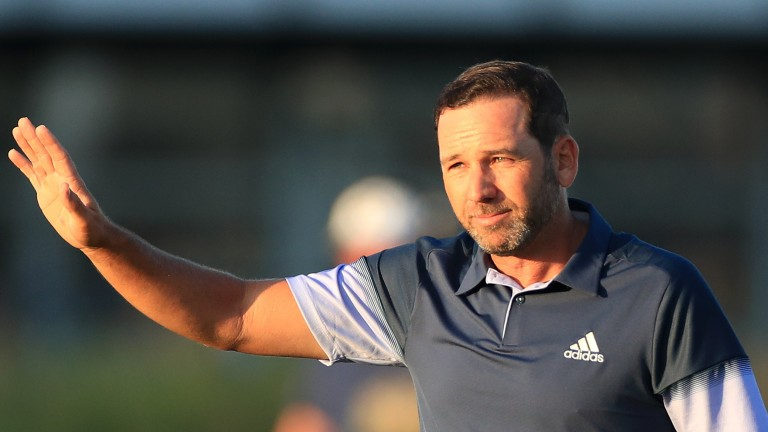 Sergio Garcia fired a final-round 66 at The Open at Royal St George's