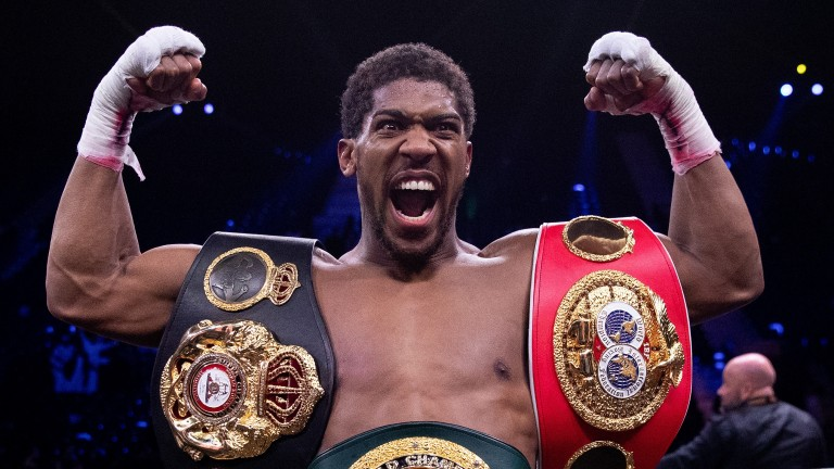 Anthony Joshua puts his belts on the line against Oleksandr Usyk