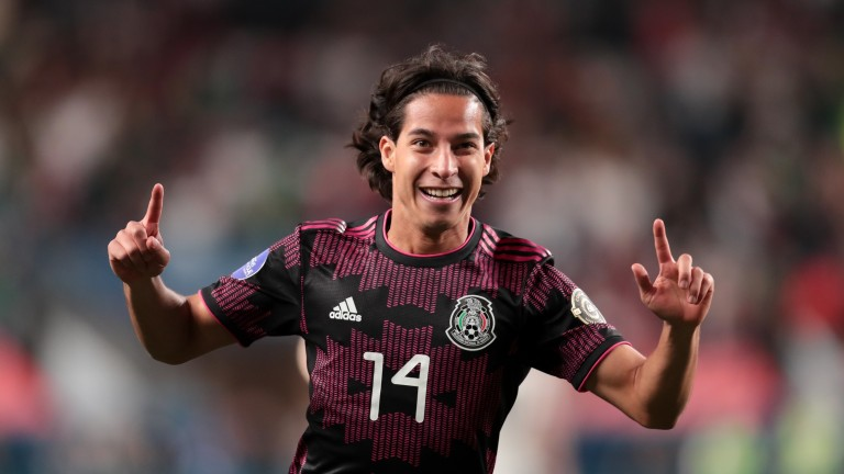 Diego Lainez will be hoping to make an impact for Mexico