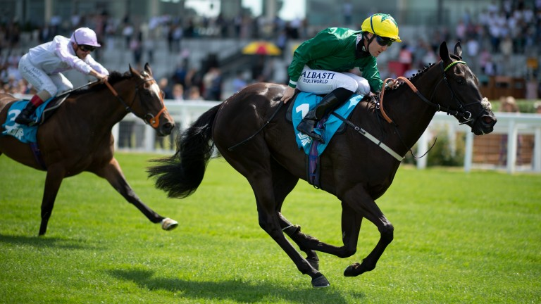 Destiny Queen: a rare two-year-old winner for George Baker