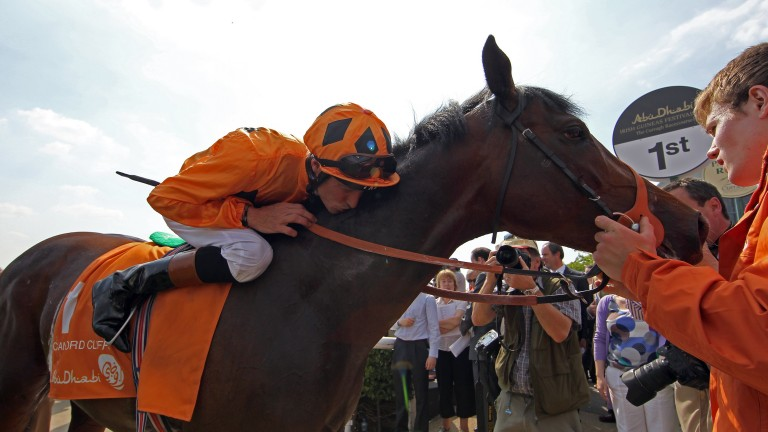 """""""He was electric that day"""": Richard Hughes on Canford Cliffs after their Irish 2,000 Guineas victory"""