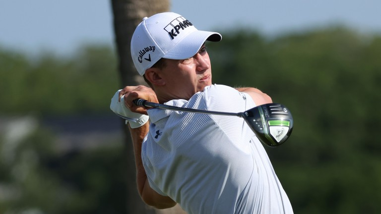 Maverick McNealy is in the hunt at the 3M Open