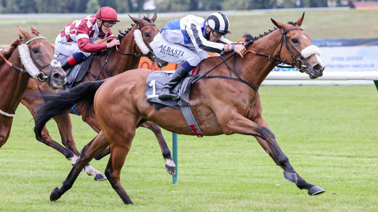 Let Me Be seeking seventh win of the year in the Sky Bet Sunday Series Stayers Handicap