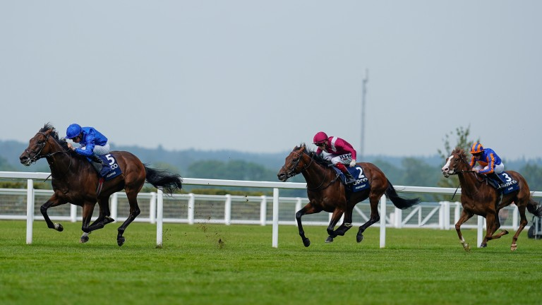 Adayar surges clear of Mishriff and Love at Ascot on Saturday
