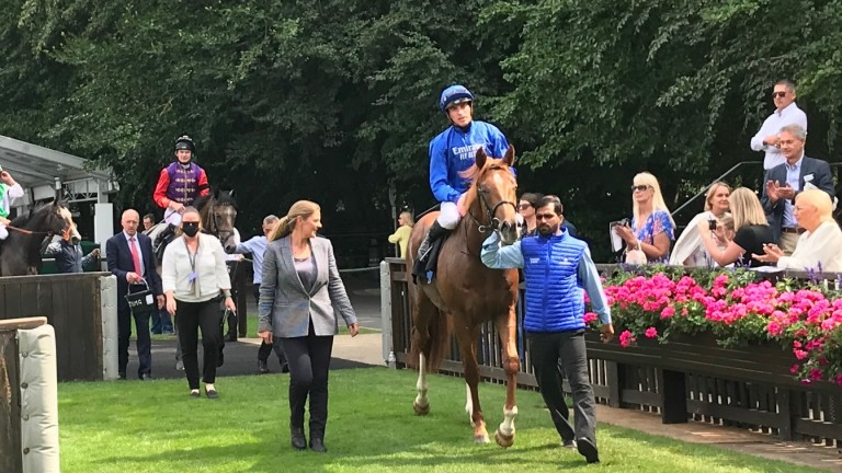Modern Games and James Doyle kicked off the afternoon with victory in the maiden for two-year-olds