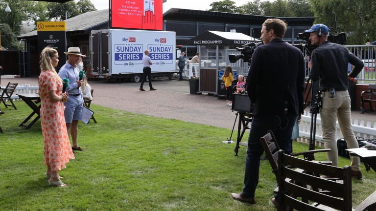 ITV4 cameras were at Musselburgh, although issues occurred during the fourth race