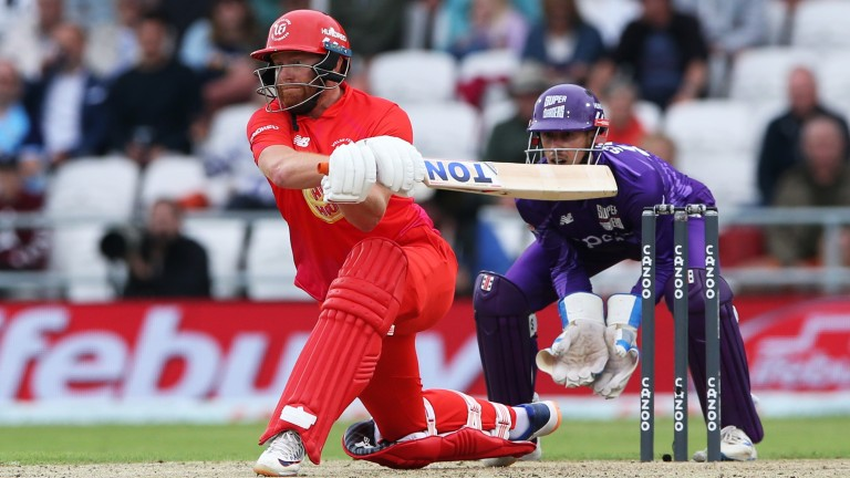 Jonny Bairstow top-scored with 56 in Welsh Fire's opening victory
