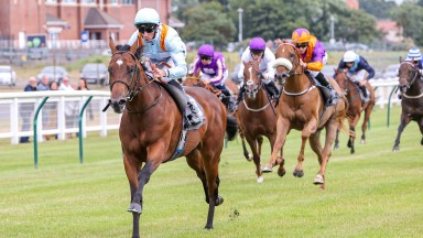 Dynamic Force scoots clear of his rivals