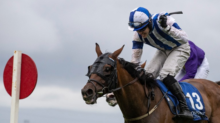 """Finny Maguire on his second successive win in the Connacht Hotel Handicap: """"It's unbelievable to do it again"""""""